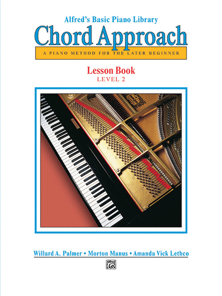 Alfred's Chord Approach - Lesson Book (Level 2)