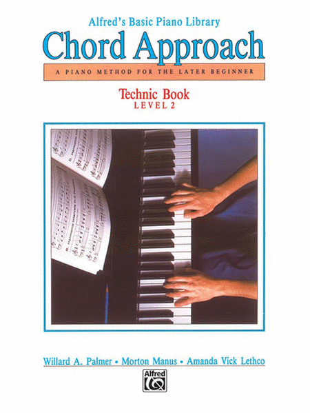 Alfred's Basic Piano Chord Approach Technic, Book 2