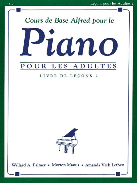 Alfred's Basic Adult Piano Course Lesson Book, Level 2 (French Edition)