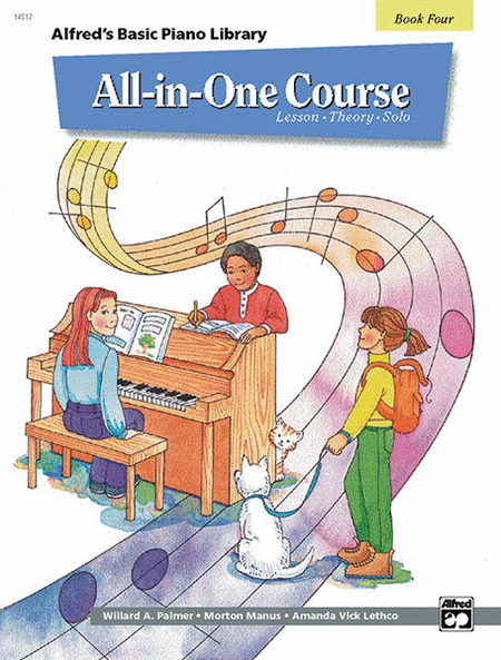 Alfred's Basic All-in-One Course for Children, Book 4