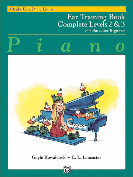 Alfred's Basic Piano Course - Ear Training Book Complete Levels 2 & 3