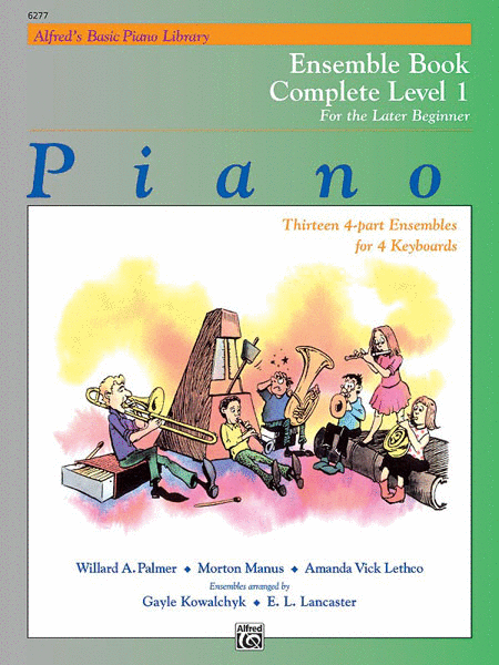 Alfred's Basic Piano Course - Ensemble Book Complete Level 1 (1A/1B)