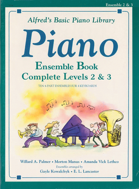 Alfred's Basic Piano Course - Ensemble Book Complete Levels 2 & 3