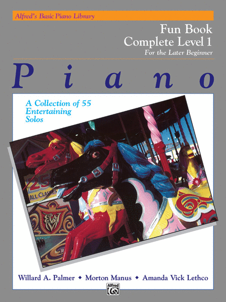 Alfred's Basic Piano Course - Fun Book Complete Level 1 (1A/1B)