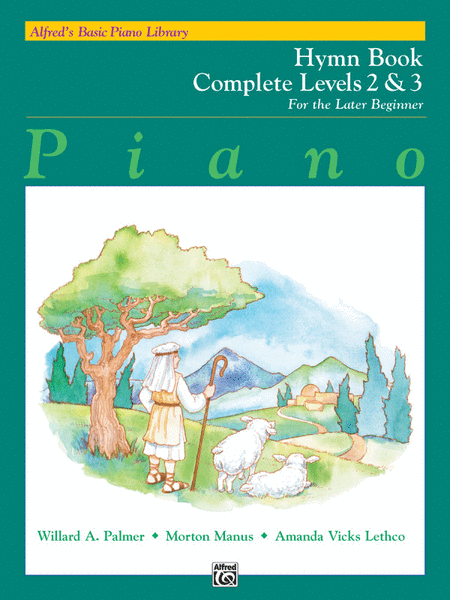 Alfred's Basic Piano Course - Hymn Book Complete Levels 2 & 3
