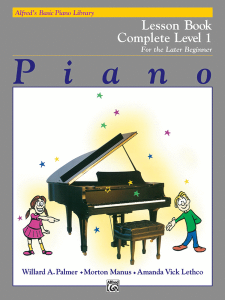 Alfred's Basic Piano Course - Lesson Book - Complete Level 1 (1A/1B)