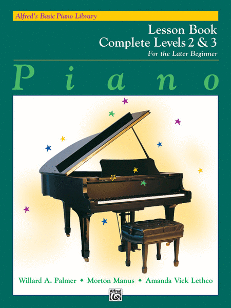 Alfred's Basic Piano Course - Lesson Book (Complete Levels 2 & 3)