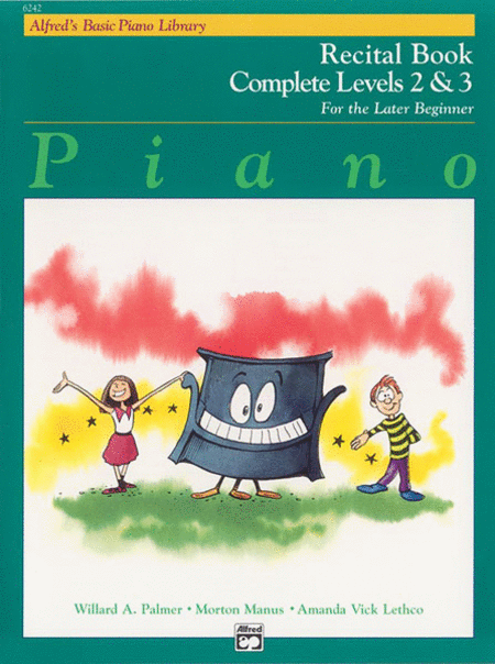 Alfred's Basic Piano Course - Recital Book Complete Levels 2 & 3