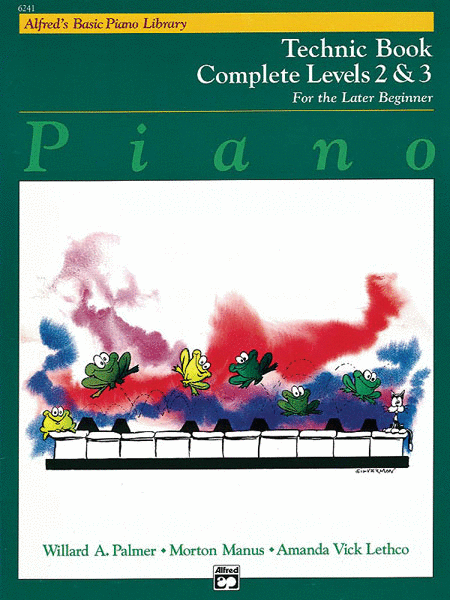 Alfred's Basic Piano Course - Technic Book Complete Levels 2 & 3