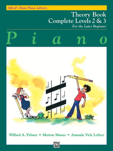 Alfred's Basic Piano Course - Theory Book (Complete Levels 2 & 3)