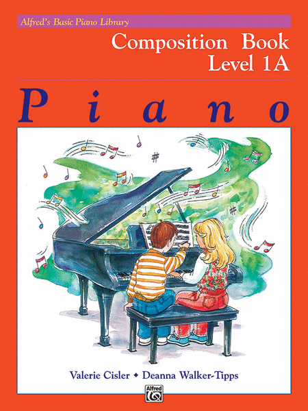 Alfred's Basic Piano Course - Composition Book Level 1A