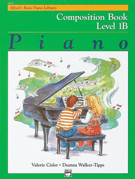 Alfred's Basic Piano Course - Composition Book Level 1B