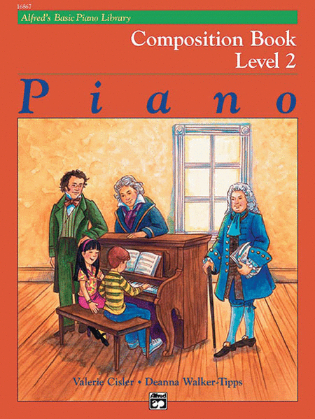 Alfred's Basic Piano Course - Composition Book 2