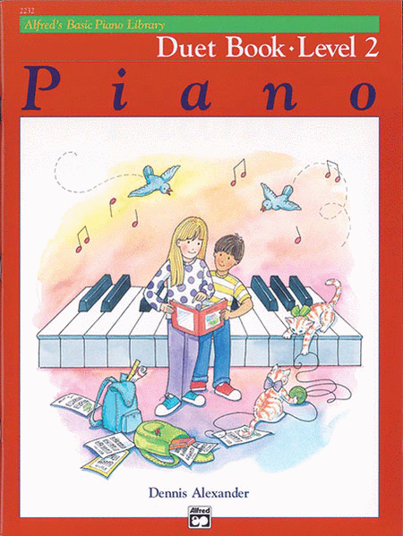Alfred's Basic Piano Course - Duet Book, Book 2