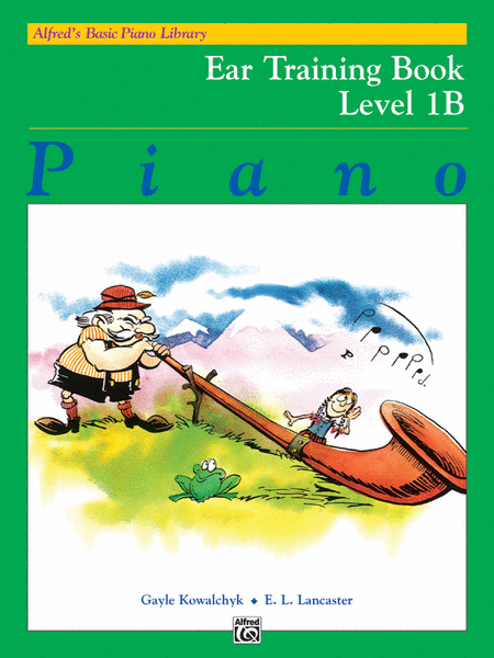 Alfred's Basic Piano Course - Ear Training Book Level 1B