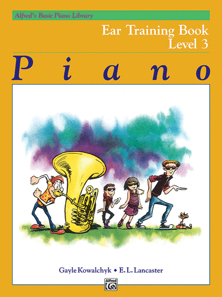 Alfred's Basic Piano Course - Ear Training, Book 3