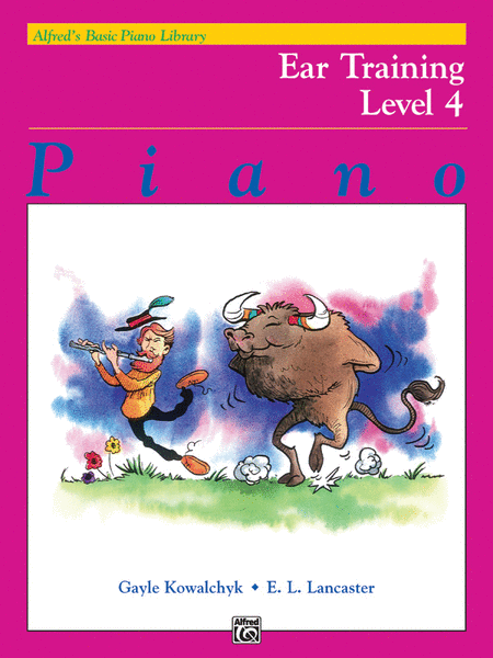 Alfred's Basic Piano Course - Ear Training, Book 4