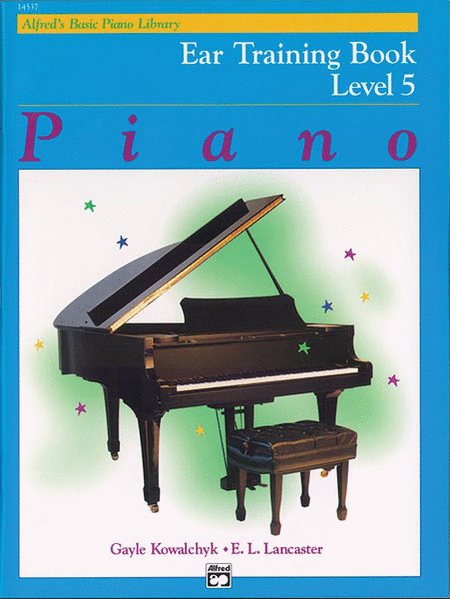 Alfred's Basic Piano Course - Ear Training, Book 5