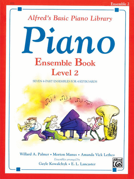 Alfred's Basic Piano Course - Ensemble Book, Book 2