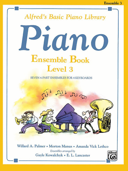 Alfred's Basic Piano Course - Ensemble Book, Book 3