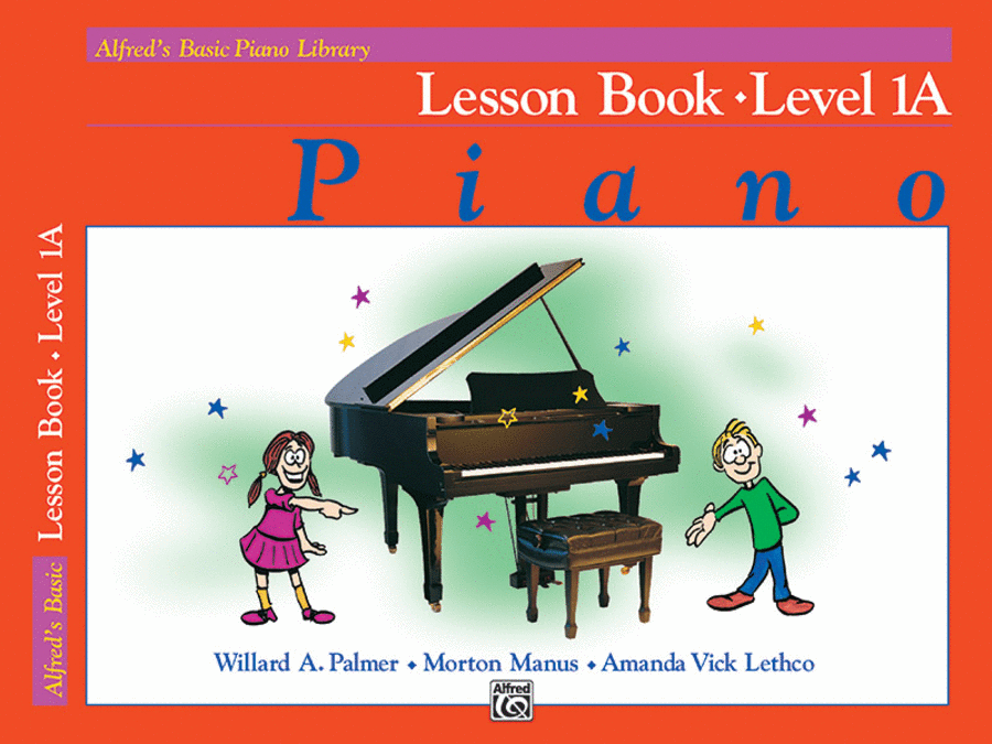 Alfred's Basic Piano Course - Lesson Book (Level 1A)