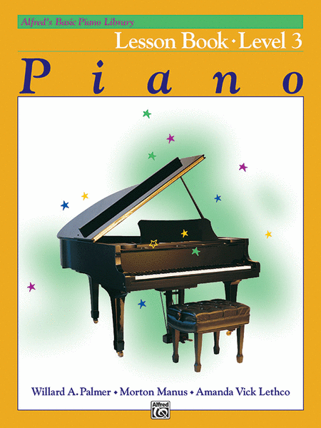 Alfred's Basic Piano Course - Lesson Book (Level 3)