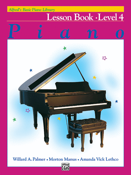 Alfred's Basic Piano Course - Lesson Book (Level 4)