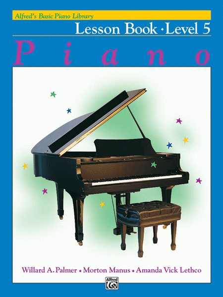 Alfred's Basic Piano Course - Lesson Book (Level 5)