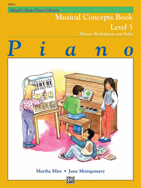 Alfred's Basic Piano Course - Musical Concepts, Book 3