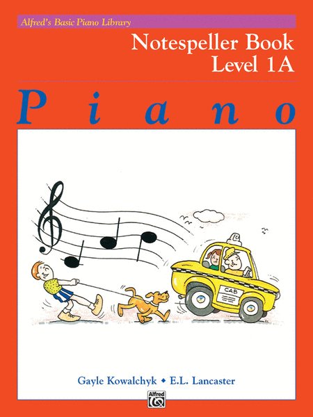 Alfred's Basic Piano Course - Notespeller Book (Level 1A)