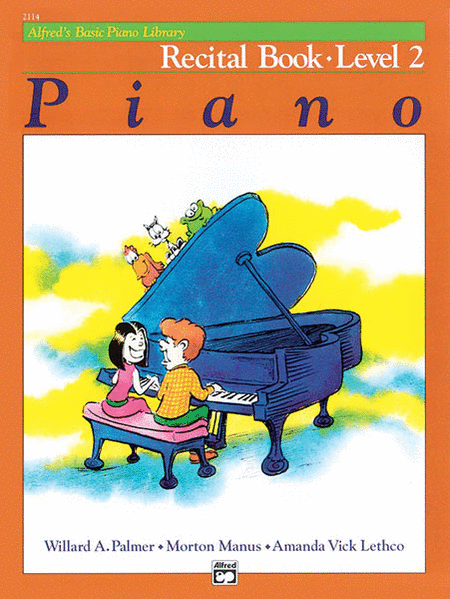 Alfred's Basic Piano Course - Recital Book (Level 2)