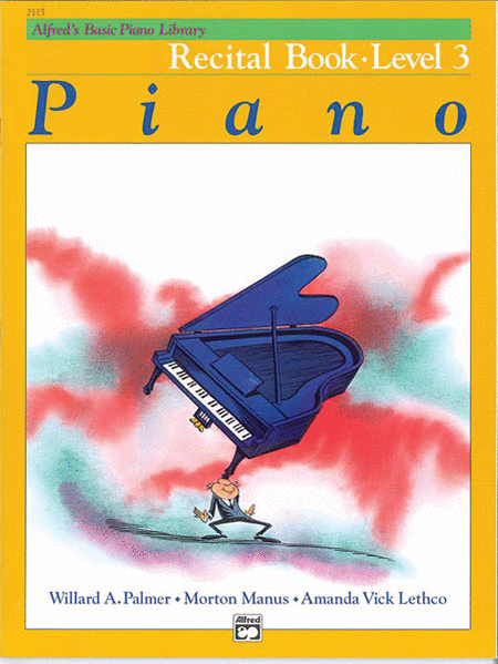 Alfred's Basic Piano Course - Recital Book (Level 3)