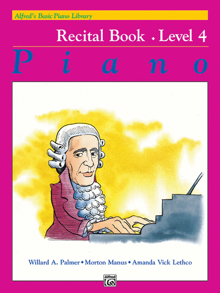 Alfred's Basic Piano Course - Recital Book (Level 4)