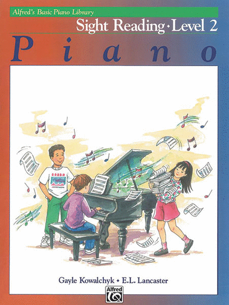Alfred's Basic Piano Course - Sight Reading Book 2