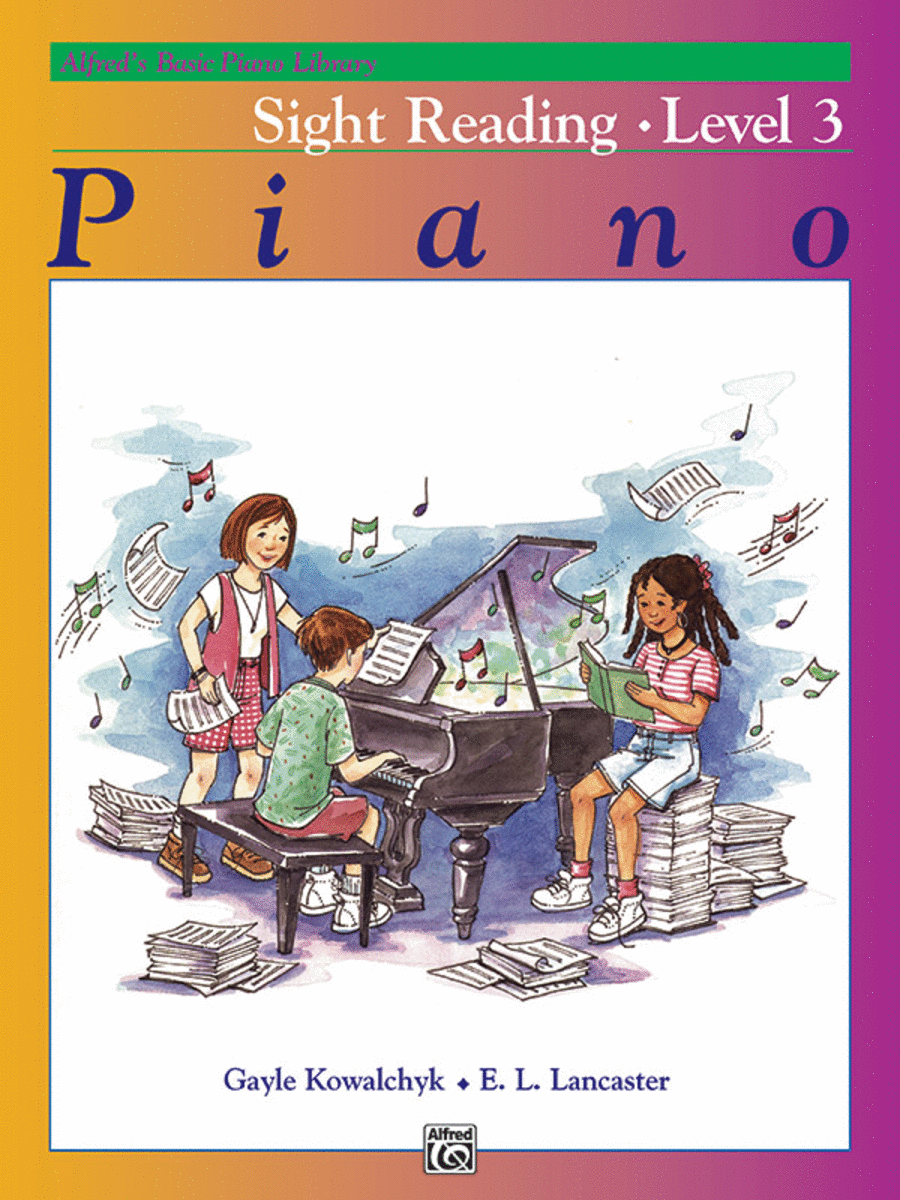 Alfred's Basic Piano Course - Sight Reading Book Level 3