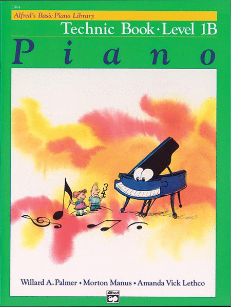Alfred's Basic Piano Course - Technic Book (Level 1B)
