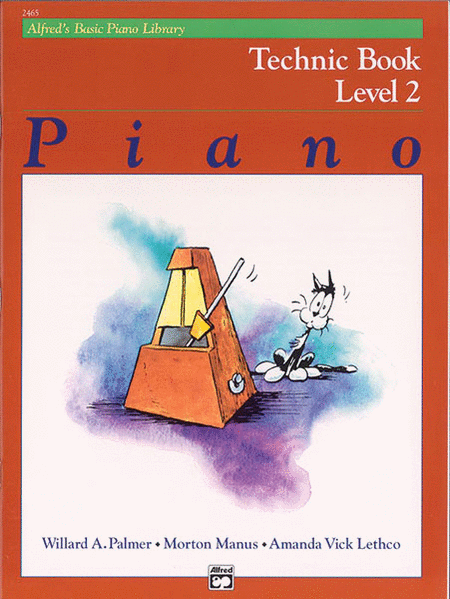 Alfred's Basic Piano Course - Technic Book (Level 2)
