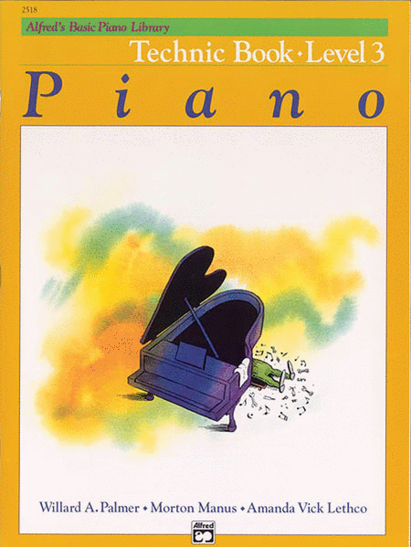 Alfred's Basic Piano Course - Technic Book (Level 3)