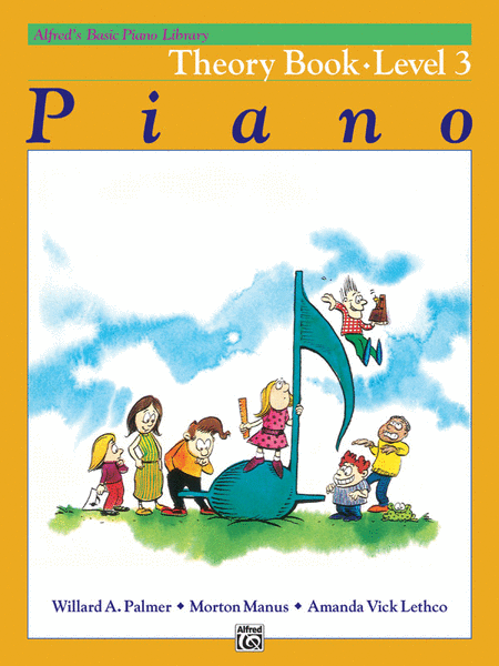 Alfred's Basic Piano Course - Theory Book (Level 3)