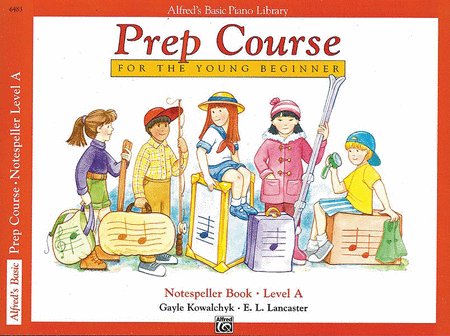 Alfred's Prep Course - Notespeller Book (Level A)