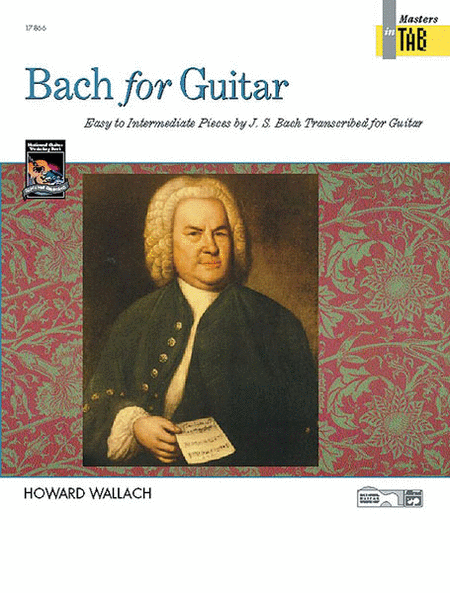 Bach for Guitar - Masters in Tab
