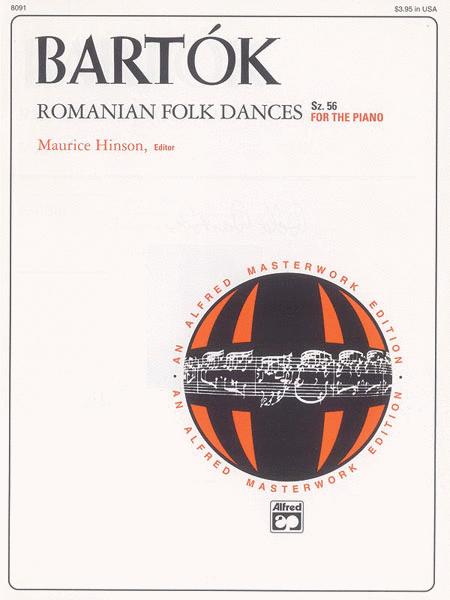 Bartok -- Romanian Folk Dances, Sz. 56 for the Piano