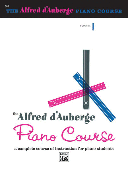 Alfred d'Auberge Piano Course - Lesson Book 5
