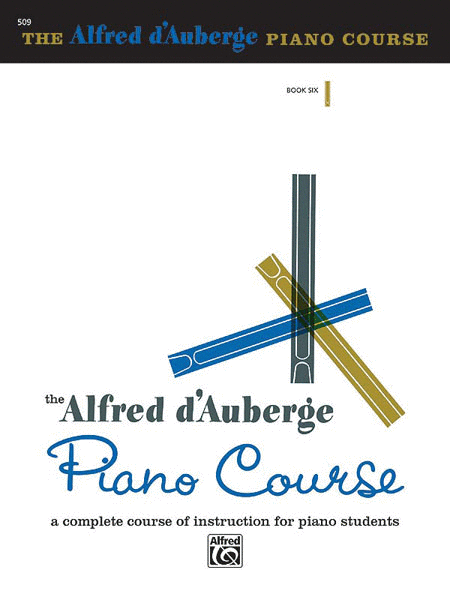 Alfred d'Auberge Piano Course - Lesson Book 6
