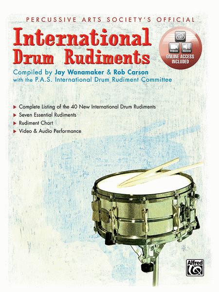 International Drum Rudiments (Book/CD)