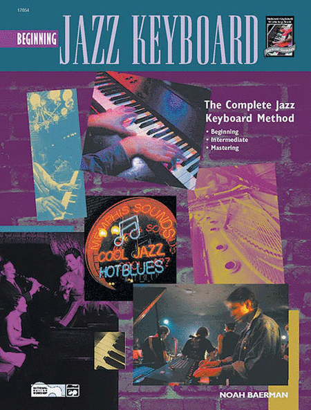 Beginning Jazz Keyboard - Book