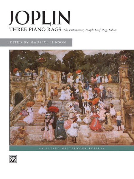 Joplin -- Three Piano Rags