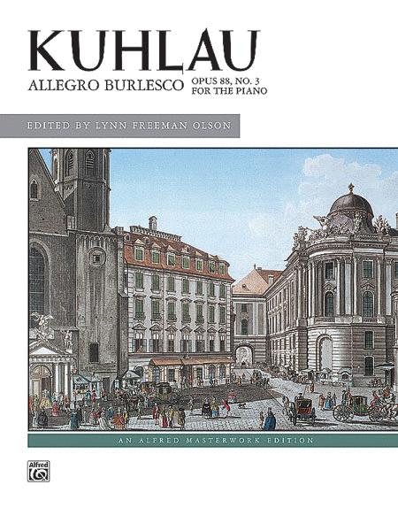 Allegro Burlesco, Opus 88, No. 3