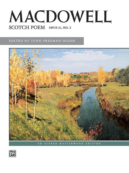 Scotch Poem, Op. 31, No. 2