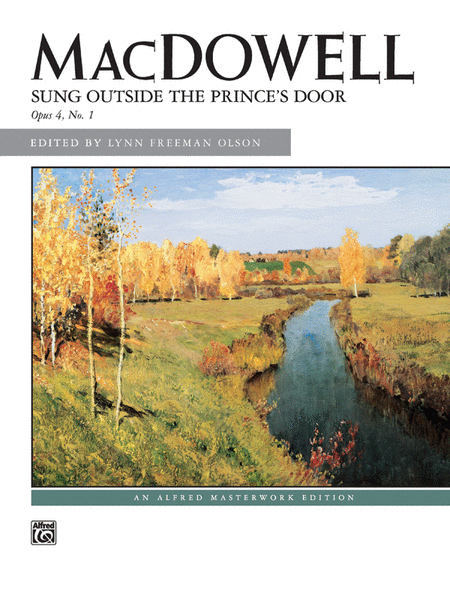 Sung Outside the Prince's Door